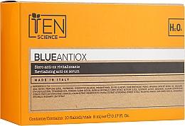 Духи, Парфюмерия, косметика Антиоксидантная восстанавливающая сыворотка - Ten Science Blue Antiox Revitalizing Serum
