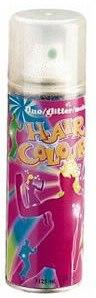 """Цветной спрей для волос """"Glitter"""", синий - Sibel Coloured Hair Spray"""