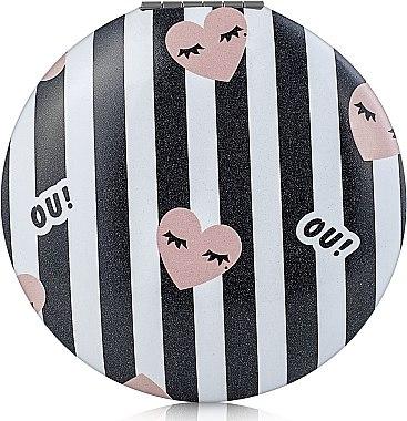 Зеркало круглое М1041-2, черно-белое - Rapira