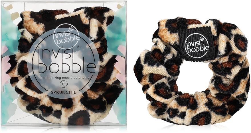 Резинка для волос, леопардовая - Invisibobble Sprunchie Purrfection