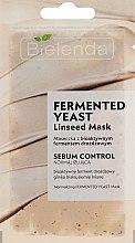 Духи, Парфюмерия, косметика Маска для лица с ферментами - Bielenda Fermented Yeast Linseed Mask