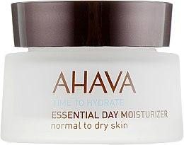 Духи, Парфюмерия, косметика Крем увлажняющий для нормальной и сухой кожи - Ahava Time To Hydrate Essential Day Moisturizer Normal to Dry Skin
