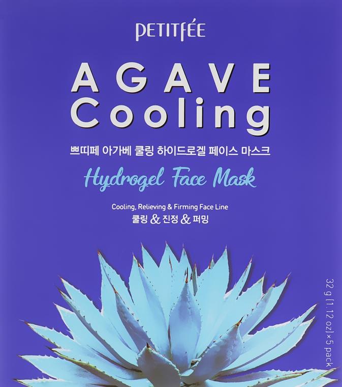 Гидрогелевая охлаждающая маска для лица с экстрактом агавы - Petitfee&Koelf Agave Cooling Hydrogel Face Mask