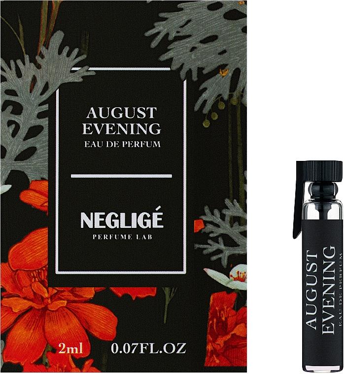Neglige August Evening - Парфюмированная вода (пробник)