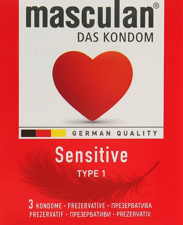 "Презервативы ""Sensitive"" - Masculan"