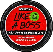 "Духи, Парфюмерия, косметика Шампунь-гель для душа ""Like A Boss"" - Beauty Jar 2 in 1 Energizing Shower & Shampoo"