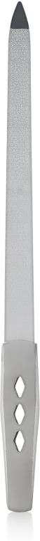 Пилка для ногтей лазерная с металлической ручкой 16 см ПС145 - Rapira