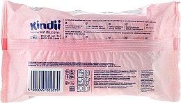 Детские влажные салфетки, 60 шт. - Cleanic Kindii Baby Sensitive Wipes — фото N2