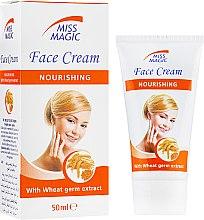 Духи, Парфюмерия, косметика Крем для лица питательный с экстрактом зародышей пшеницы - Miss Magic Noirishing Face Cream