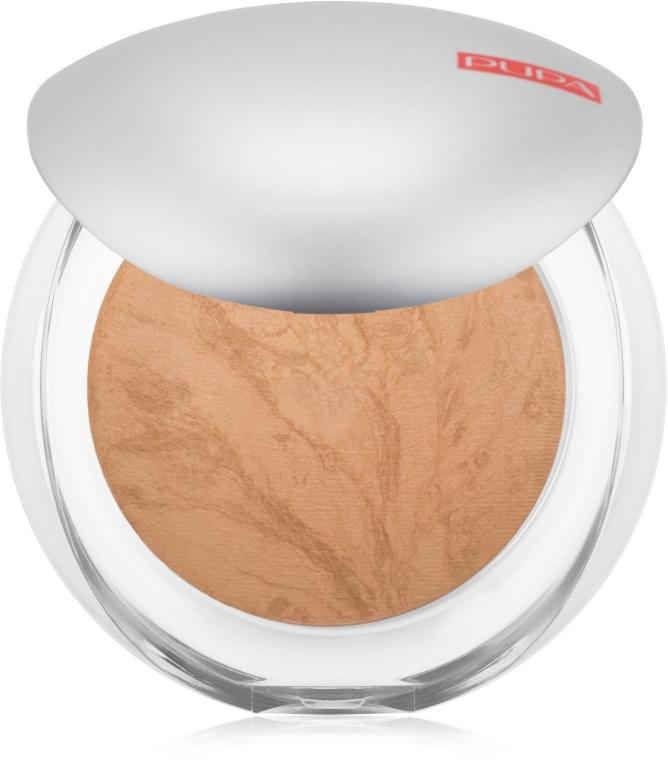 Пудра для лица компактная запеченная - Pupa Luminys Silky Baked Face Powder