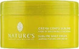 Духи, Парфюмерия, косметика Крем для тела с жасмином и орхидеей - Nature's Gelsomino Body Cream