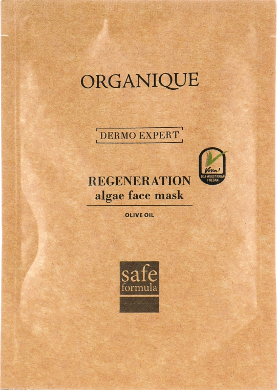 Альгінатна маска для обличчя з оливковою олією - Organique Algae Mask Olive Oil — фото N1