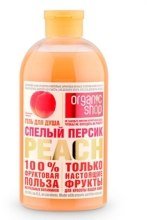 """Духи, Парфюмерия, косметика Гель для душа освежающий """"Спелый персик"""" - Organic Shop Shower Gel"""