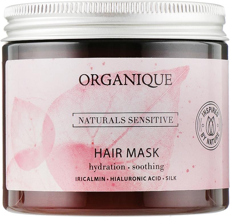 Деликатная маска для волос укрепляющая - Organique Naturals Sensitive