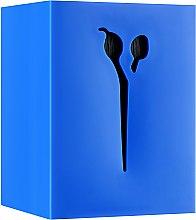 Духи, Парфюмерия, косметика Подставка для парикмахерских ножниц и инструмента, 21122, синяя - SPL