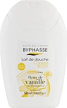 """Духи, Парфюмерия, косметика Крем для душа """"Ваниль"""" - Byphasse Caresse Shower Cream"""