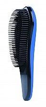 Духи, Парфюмерия, косметика Щетка для волос массажная, 498980, черно-синяя - Inter-Vion