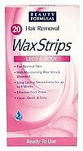 Духи, Парфюмерия, косметика Восковые полоски - Beauty Formulas Wax Strips Hair Remover Legs & Body