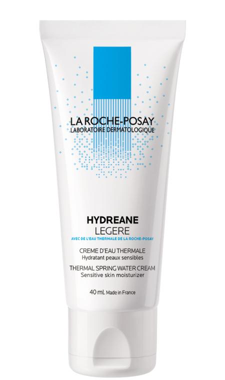 Увлажняющий крем для нормальной, комбинированной и чувствительной кожи - La Roche-Posay Hydreane Legere