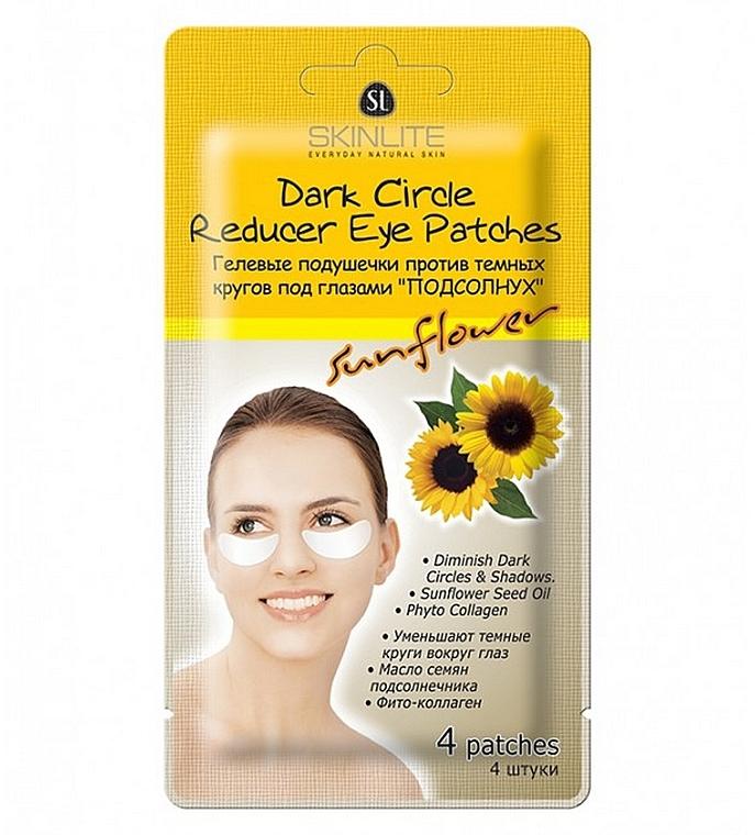Патчи под глаза против темных кругов - Skinlite Dark Circle Reducer Eye Patches Sunflower