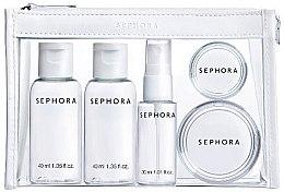Духи, Парфюмерия, косметика Набор для путешествий в прозрачной косметичке - Sephora Weekend Kit