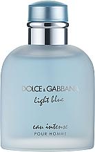 Духи, Парфюмерия, косметика Dolce&Gabbana Light Blue Eau Intense Pour Homme - Парфюмированная вода