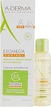 Духи, Парфюмерия, косметика Набор - A-Derma Exomega Control (body/cr/200ml + shower/oil/100ml)