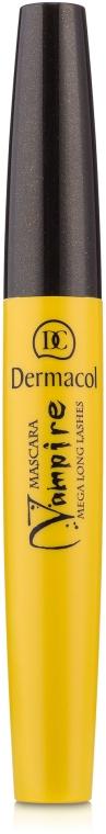 Тушь для ресниц удлиняющая - Dermacol Vampire Mega Long Lashes Mascara