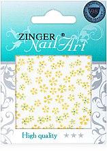 Духи, Парфюмерия, косметика Наклейки для дизайна ногтей, fda-196 - Zinger Nail Art Sticker