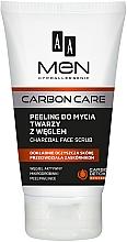 Духи, Парфюмерия, косметика Скраб для лица с углем - AA Men Carbon Care Charcoal Face Scrub