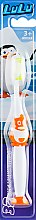 """Духи, Парфюмерия, косметика Детская зубная щетка """"LuLu"""", мягкая, оранжевая - Modum"""