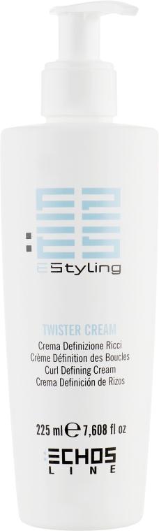 Крем для вьющихся волос - Echosline Styling Twister Cream