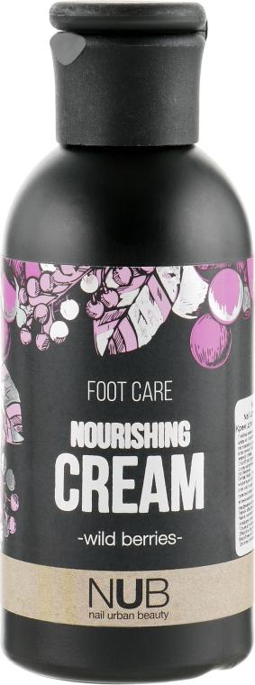 Крем для ног питательный - NUB Foot Care Nourishing Cream Wild Berries