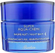 Духи, Парфюмерия, косметика Крем для лица - Guerlain Super Aqua Night Balm (тестер)