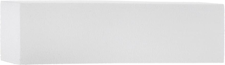 Баф 4-сторонний 120/120, M-34, белый - Nails Molekula