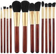 Духи, Парфюмерия, косметика Набор кистей для макияжа, 12 шт - Tools For Beauty
