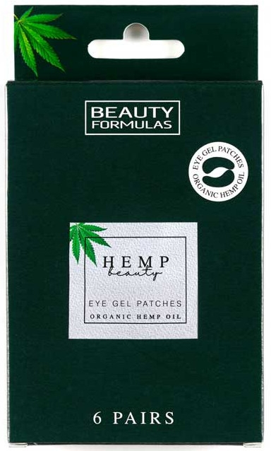 Гелевые патчи под глаза - Beauty Formulas Hemp Beauty Eye Gel Patches