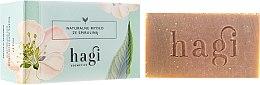 Духи, Парфюмерия, косметика Натуральное мыло с экстрактом лимонной травы и спирулина - Hagi Soap