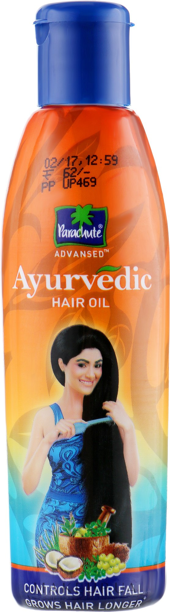 Аюрведическое масло против выпадения волос - Biofarma Parachute Advansed — фото 95ml