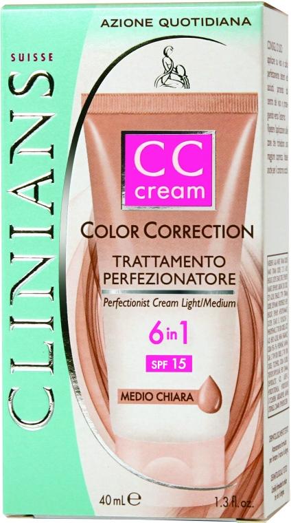 Маскирующее средство 6в1 CC Cream SPF 15 - Clinians Color Correction CC Cream