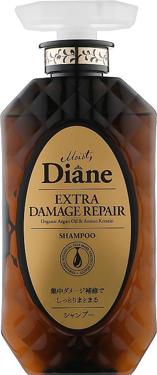 """Шампунь кератиновый для волос """"Восстановление"""" - Moist Diane Perfect Beauty Extra Damage Repair Shampoo"""
