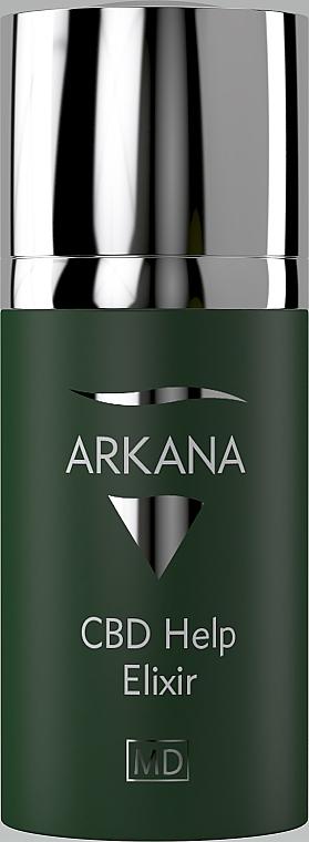 Активний концентрат для гіперчутливої шкіри - Arkana CBD Help Elixir — фото N1