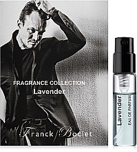 Духи, Парфюмерия, косметика Franck Boclet Lavender - Парфюмированная вода (пробник)