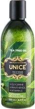 Духи, Парфюмерия, косметика Гель для умывания с маслом чайного дерева - Unice Face Wash Tea Tree Oil