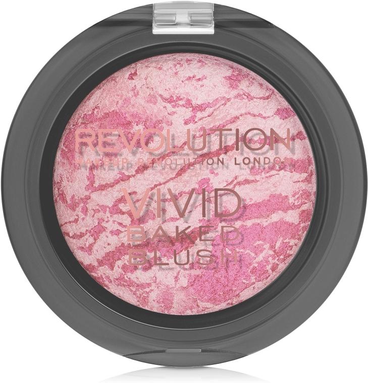 Румяна запеченные - Makeup Revolution Vivid Baked Blush — фото N1