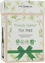"Духи, Парфюмерия, косметика Набор ""Tea Tree Vegan & Organic"" - Phytorelax Laboratories (b/shower gel/250ml + b/oil/100ml)"