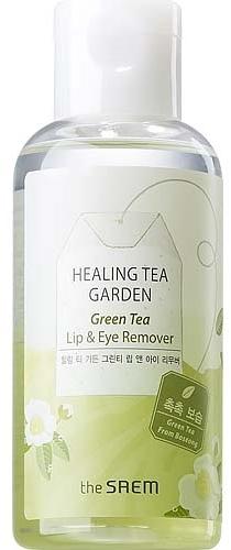 Средство для снятия макияжа для глаз и губ с экстрактом зеленого чая - The Saem Healing Tea Garden Green Tea Lip & Eye Remover