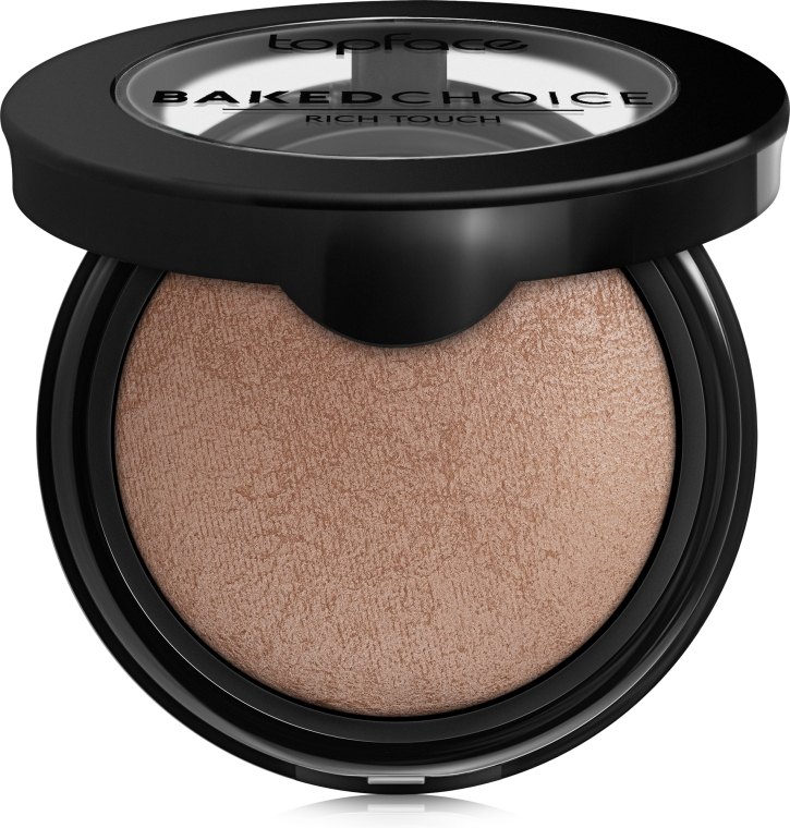 Пудра для лица - Topface Baked Choice Rich Touch Powder