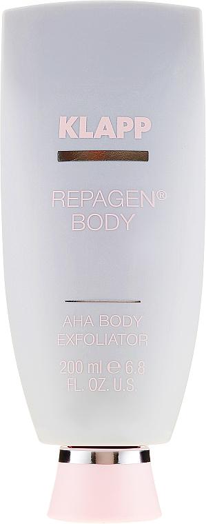 Фруктовый пилинг для тела - Klapp Repagen Body AHA Body Exfoliator