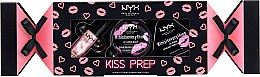 Духи, Парфюмерия, косметика Набор - NYX Professional Makeup Kiss Prep Set (lip/scr/14g + lip/balm/12g + lip/oil/8ml)